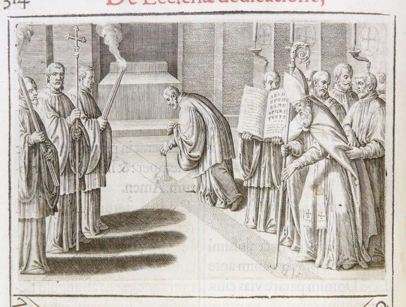 Ambito romano (1595), Dedicazione o consacrazione di una chiesa 4/18