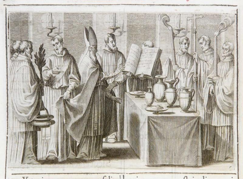 Ambito romano (1595), Dedicazione o consacrazione di una chiesa 5/18