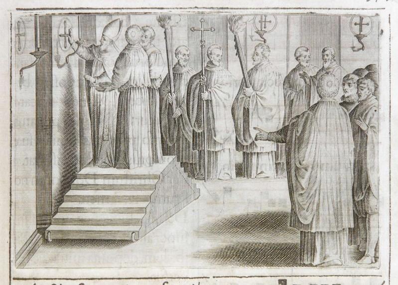 Ambito romano (1595), Dedicazione o consacrazione di una chiesa 17/18