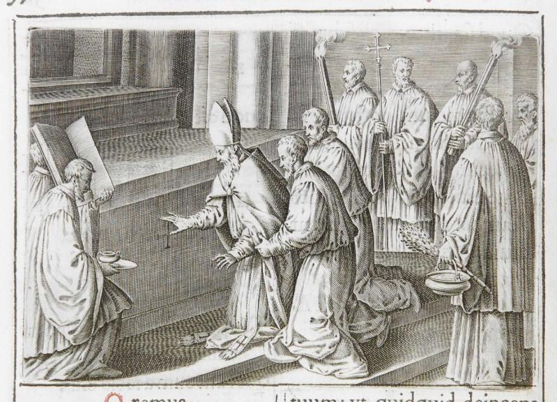 Ambito romano (1595), Dedicazione o consacrazione di una chiesa 18/18
