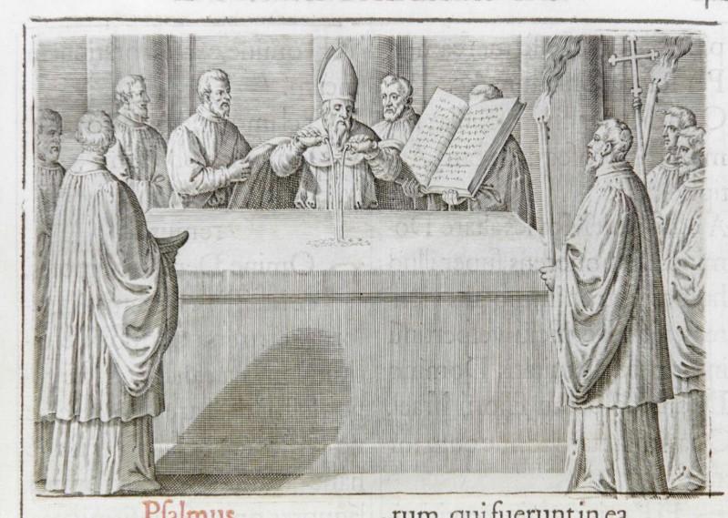 Ambito romano (1595), Consacrazione dell'altare 6/8