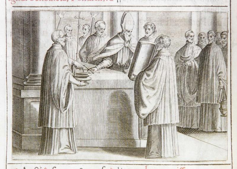 Ambito romano (1595), Consacrazione dell'altare portatile 2/4