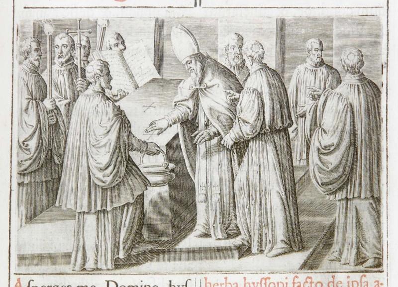 Ambito romano (1595), Consacrazione dell'altare portatile 3/4