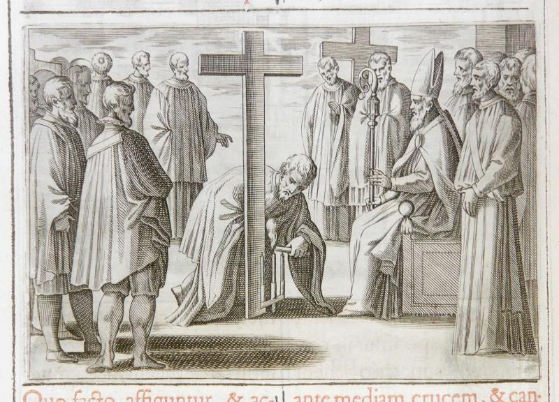 Ambito romano (1595), Benedizione del cimitero 2/6