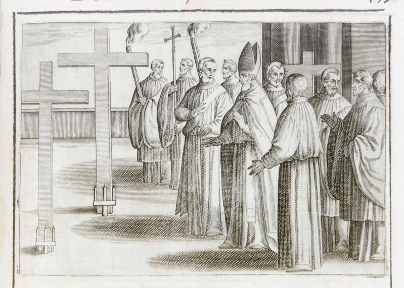Ambito romano (1595), Benedizione del cimitero 3/6