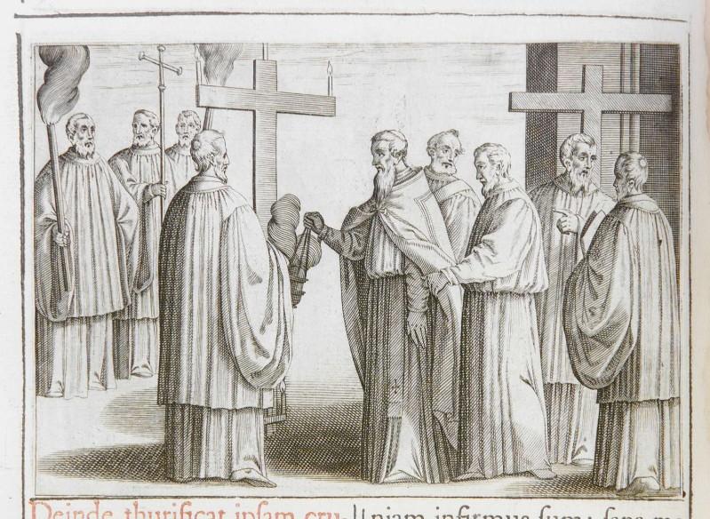 Ambito romano (1595), Benedizione del cimitero 4/6