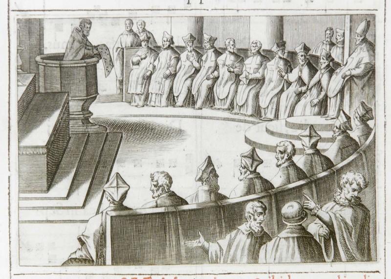 Ambito romano (1595), Pubblicazione delle feste