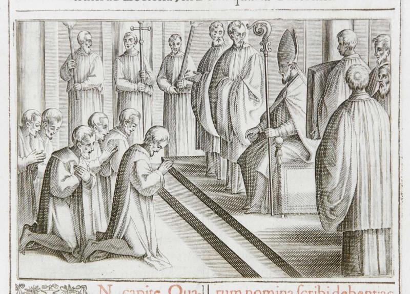 Ambito romano (1595), Allontanamento dei penitenti 1/3