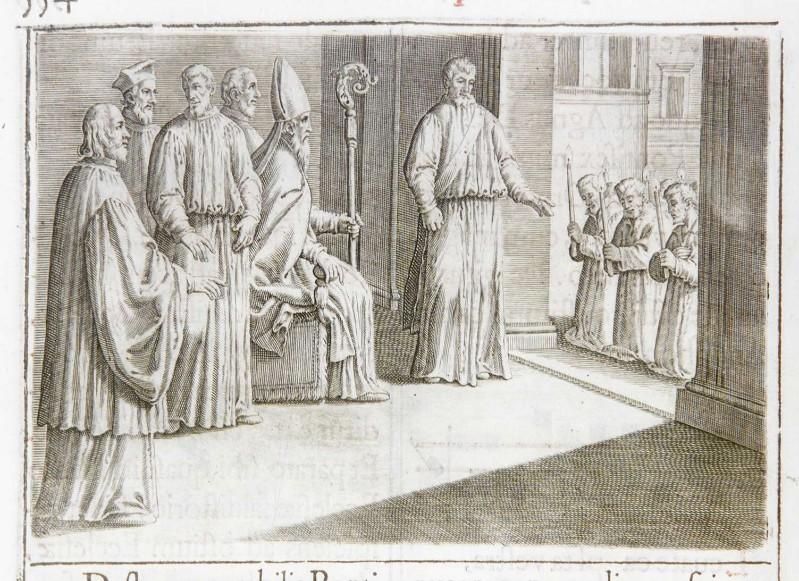 Ambito romano (1595), Riconciliazione dei penitenti 3/4