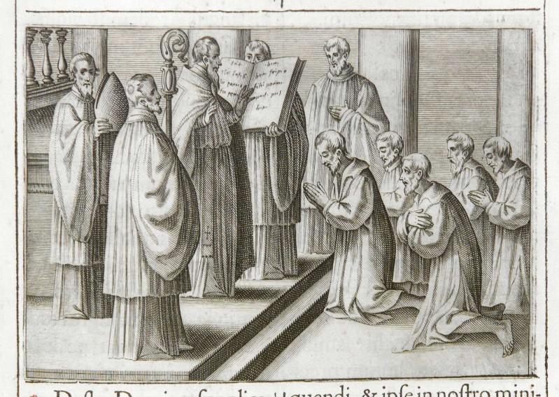 Ambito romano (1595), Ufficio del Giovedì Santo 1/5