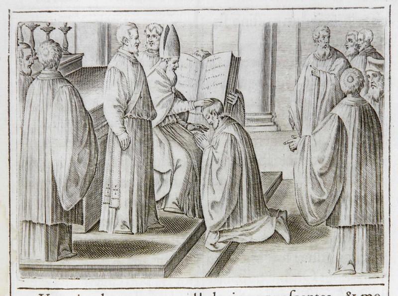 Ambito romano (1595), Sospensione e riconciliazione dei Sacri Ordini 1/2