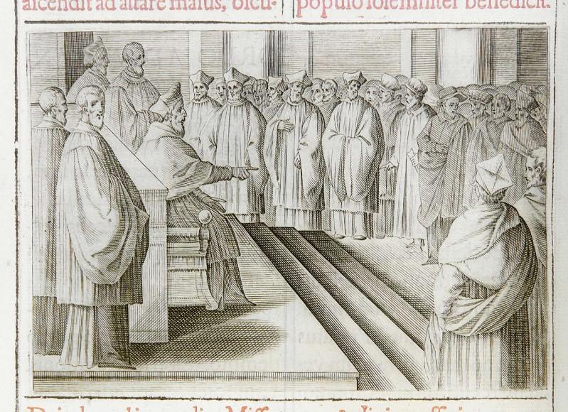 Ambito romano (1595), Visita a una parrocchia
