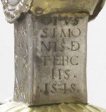 Terzi S. (1545), Croce processionale in argento