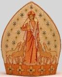 Scuola Beato Angelico sec. XX, Mitra mons. Morstabilini