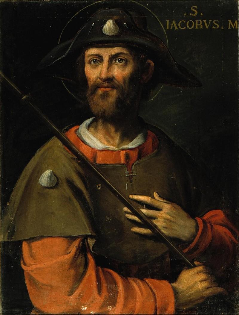 Ambito lombardo sec. XVI, San Giacomo Maggiore apostolo