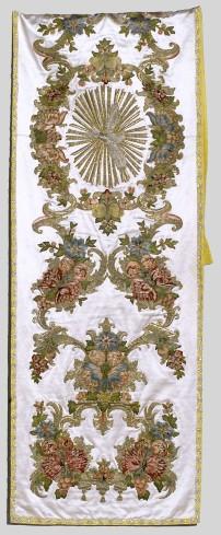 Manifattura lombardo-veneta sec. XVIII, Velo omerale bianco