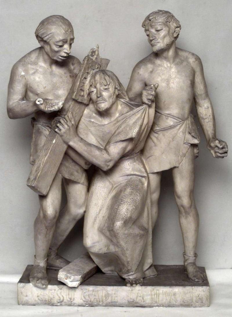 Brolis P. (1963), Gesù Cristo cade sotto la Croce