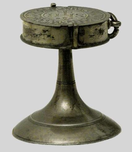 Ambito lombardo-veneto sec. XVII, Teca eucaristica