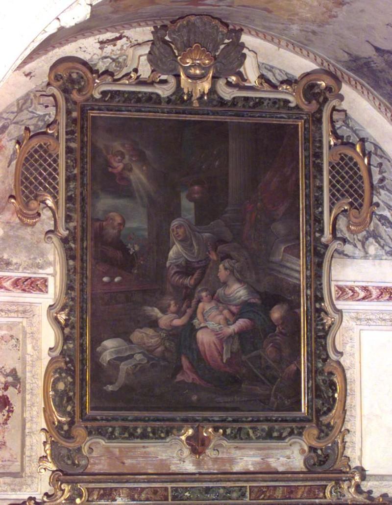 Bottega veneta sec. XVI, Cornice di dipinto