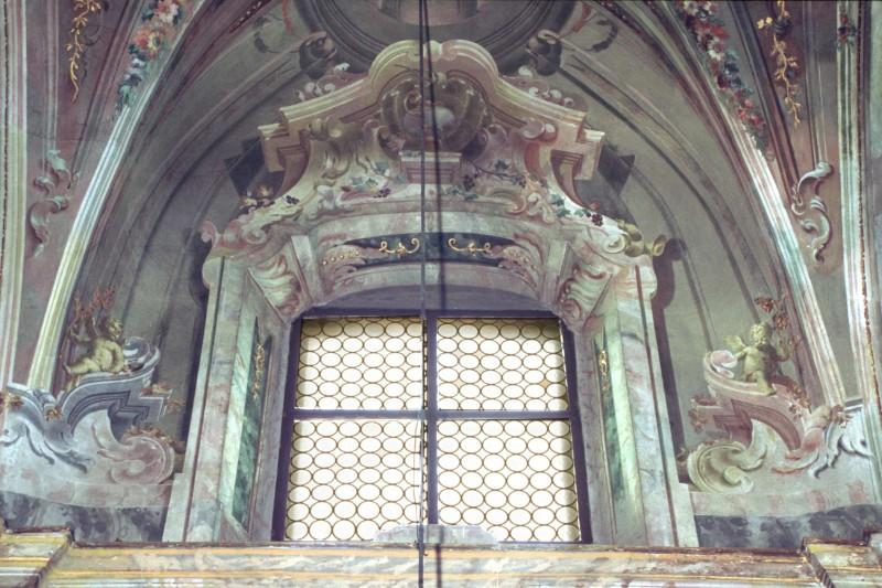 Brignoli B. sec. XVIII, Finte architetture ad affresco
