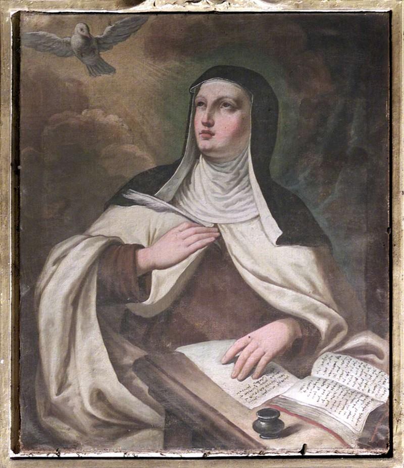 Ambito lombardo sec. XVIII, Santa Teresa d'Avila