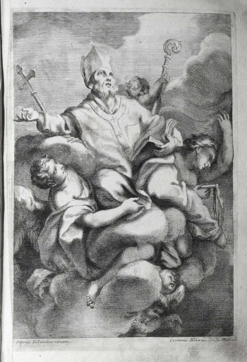 Bianchi G. sec. XVIII, Gloria di S. Ambrogio