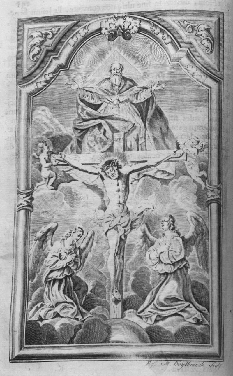 Heylbrouck M. sec. XVIII, Crocifissione di Gesù Cristo