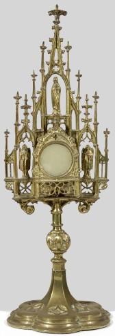 Ambito lombardo sec. XIX-XX, Reliquiario