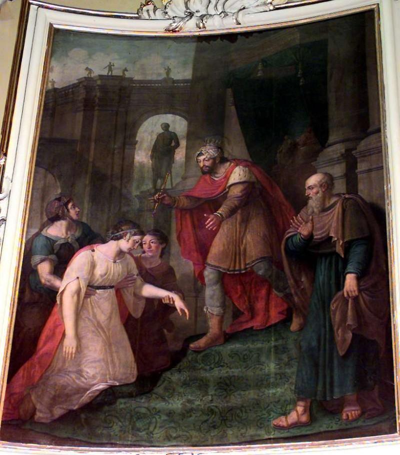 Brighenti G.B. (1832), Esther e Assuero