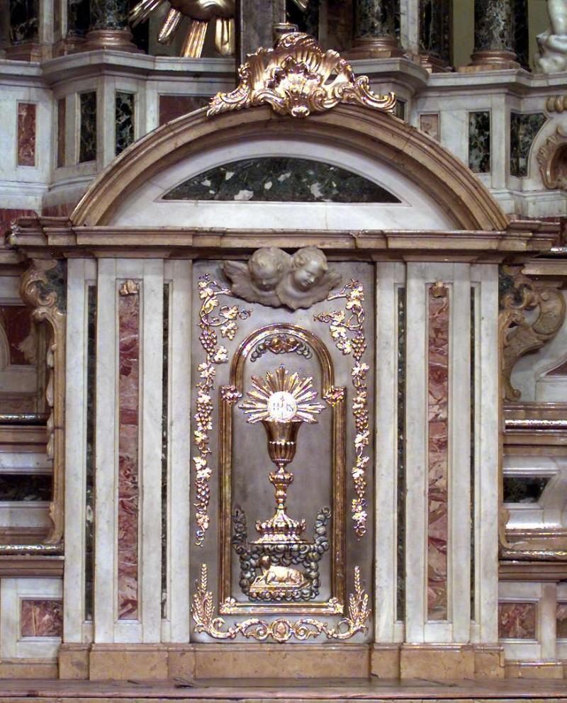 Bottega dei Fantoni sec. XVIII, Tabernacolo