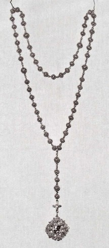 Ambito bergamasco sec. XVIII, Corona del rosario