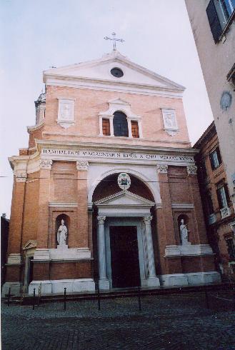 La facciata principale della cattedrale di San Settimio  a Jesi