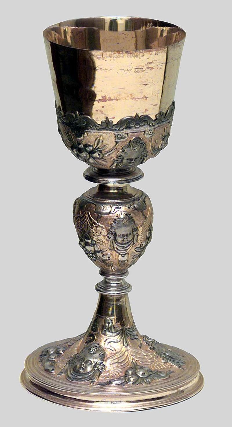 Bottega veneta sec. XVII, Calice
