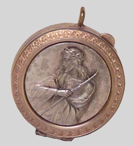 Ambito italiano sec. XX, Teca eucaristica