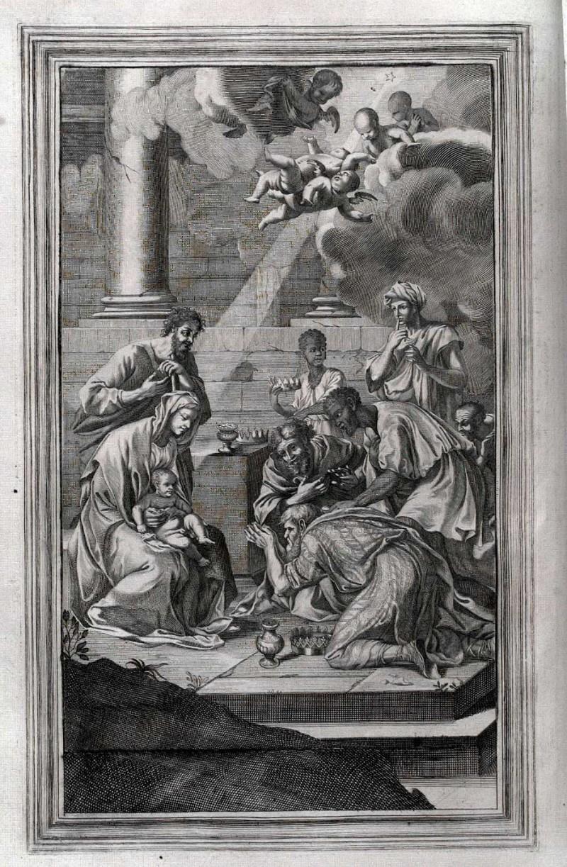Ambito romano (1729), Adorazione dei Magi