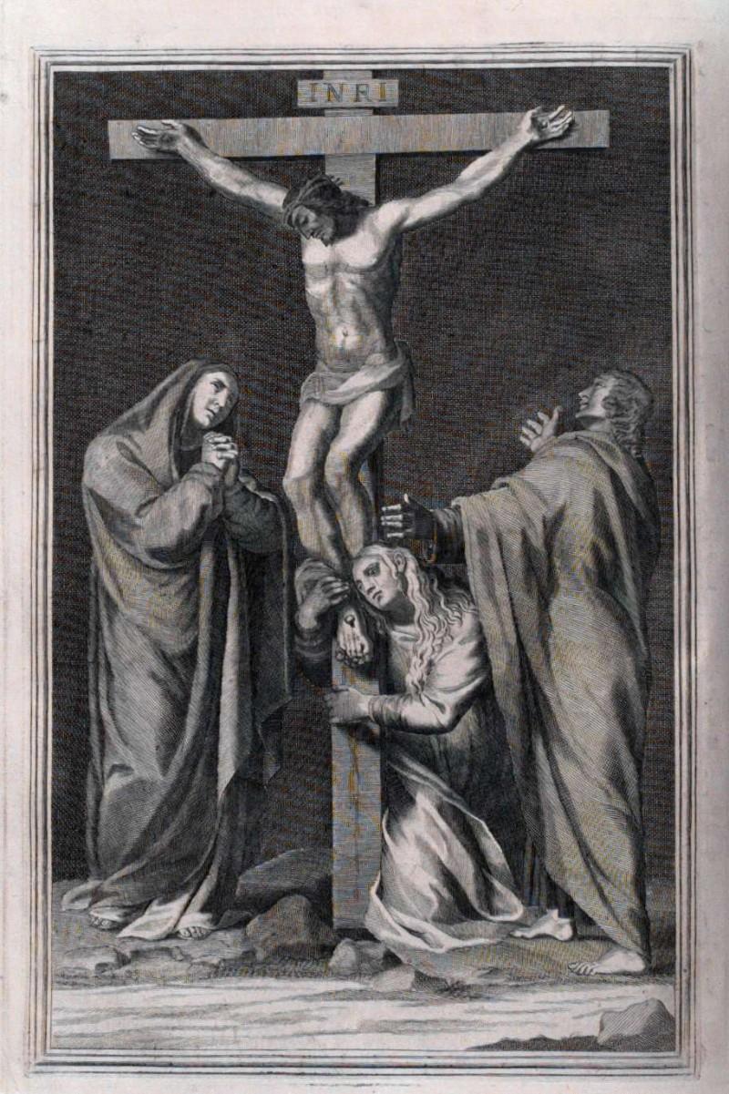 Ambito romano (1729), Crocifissione di Gesù Cristo