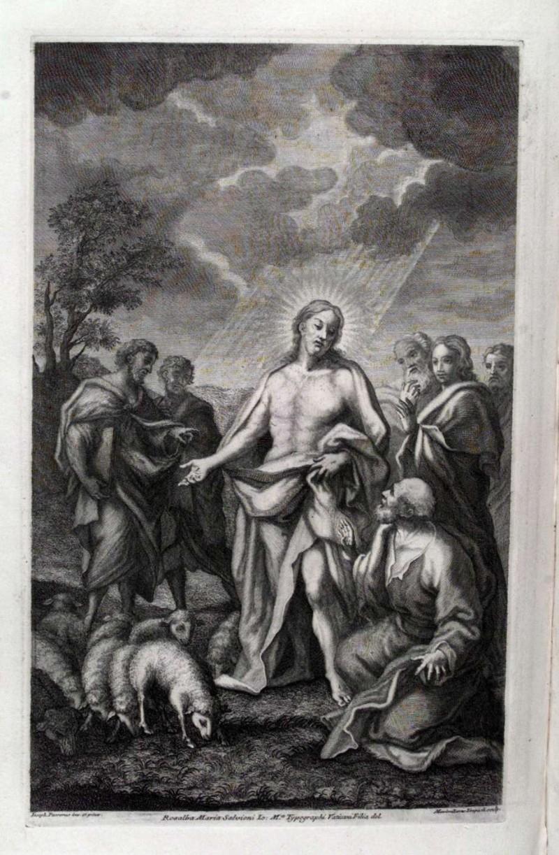 Limpach M. (1729), Mandato di Gesù Cristo agli Apostoli