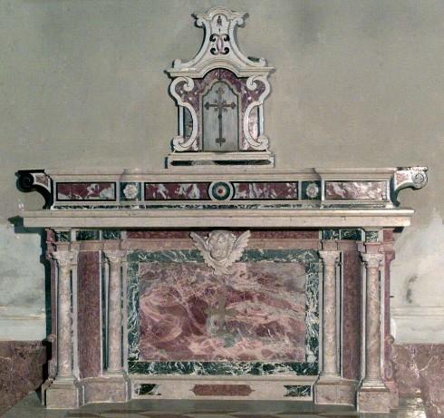 Ambito lombardo-veneto sec. XVIII, Altare