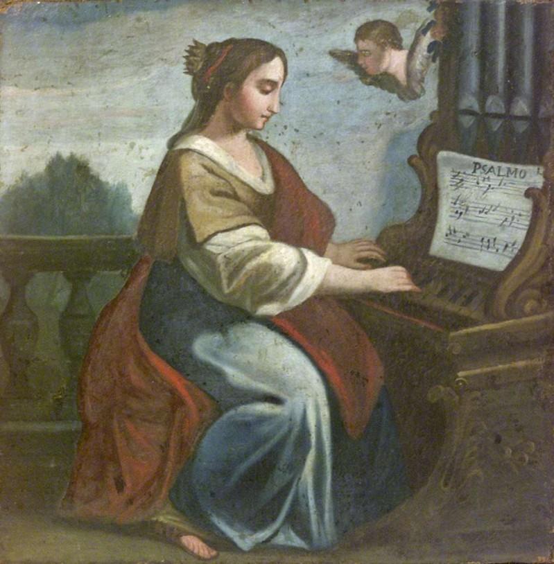 Ambito lombardo sec. XVIII, S. Cecilia