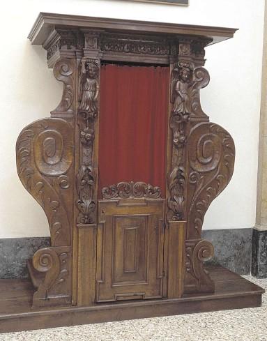 Ambito bergamasco sec. XVII, Confessionale