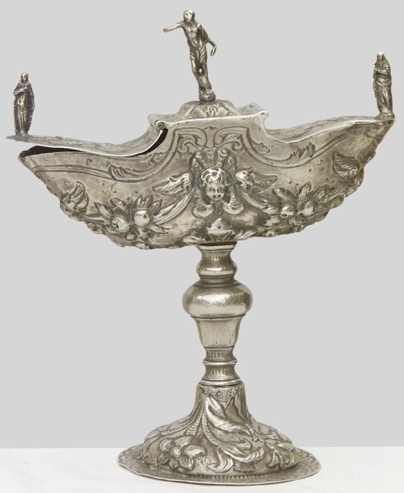 Ambito lombardo sec. XVII, Navicella portaincenso