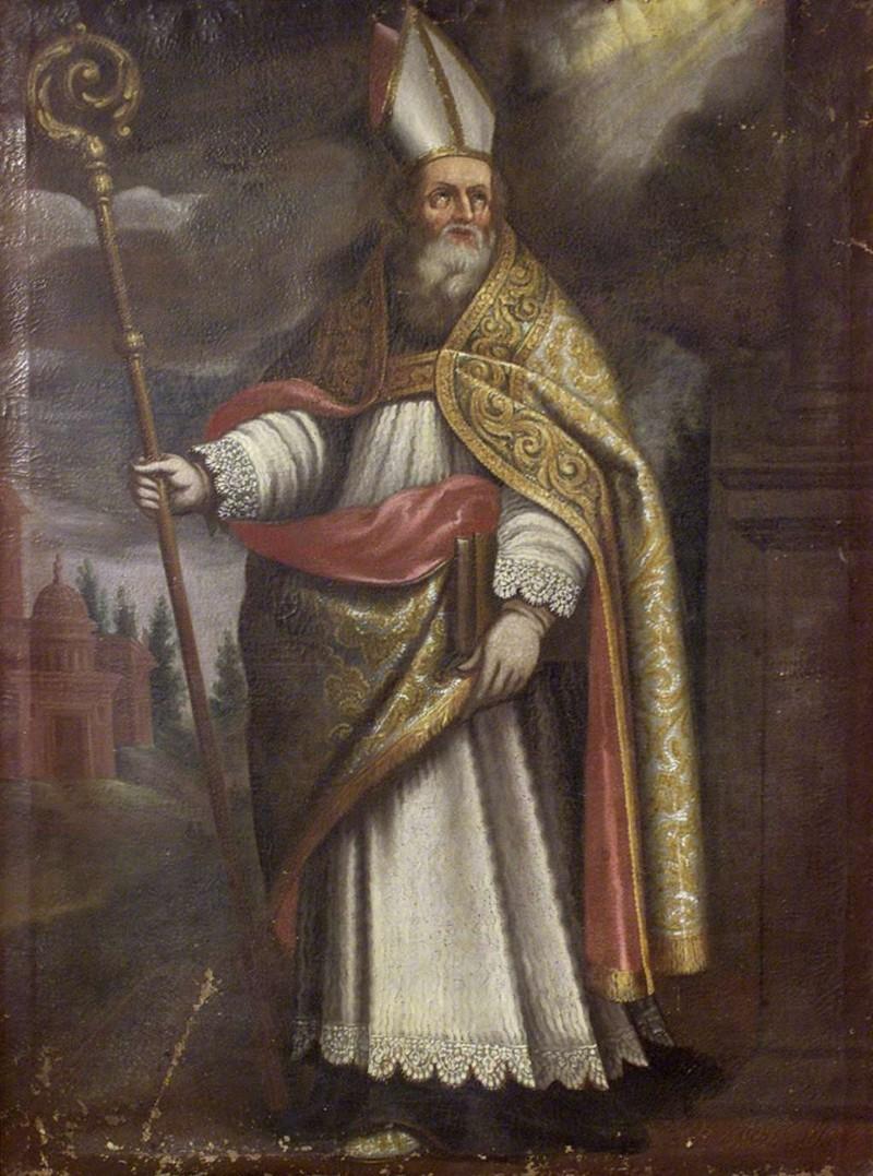 Ambito bergamasco sec. XVII, San Patrizio