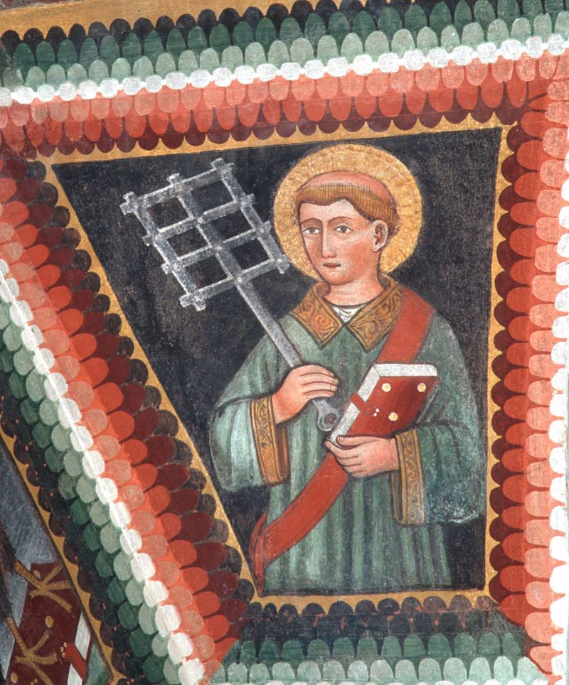 Maffiolo da Cazzano sec. XV, San Lorenzo martire 2/2
