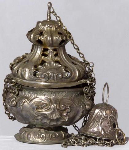 Ambito lombardo sec. XVIII, Turibolo