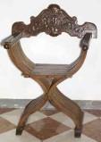 Ambito bergamasco sec. XVIII-XIX, Faldistorio