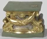 Ambito bergamasco sec. XIX, Espositorio in legno