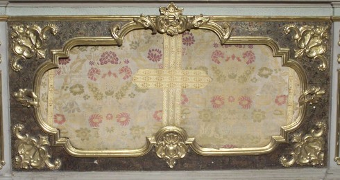 Ambito lombardo sec. XVIII, Paliotto