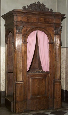 Ambito bergamasco sec. XIX, Confessionale