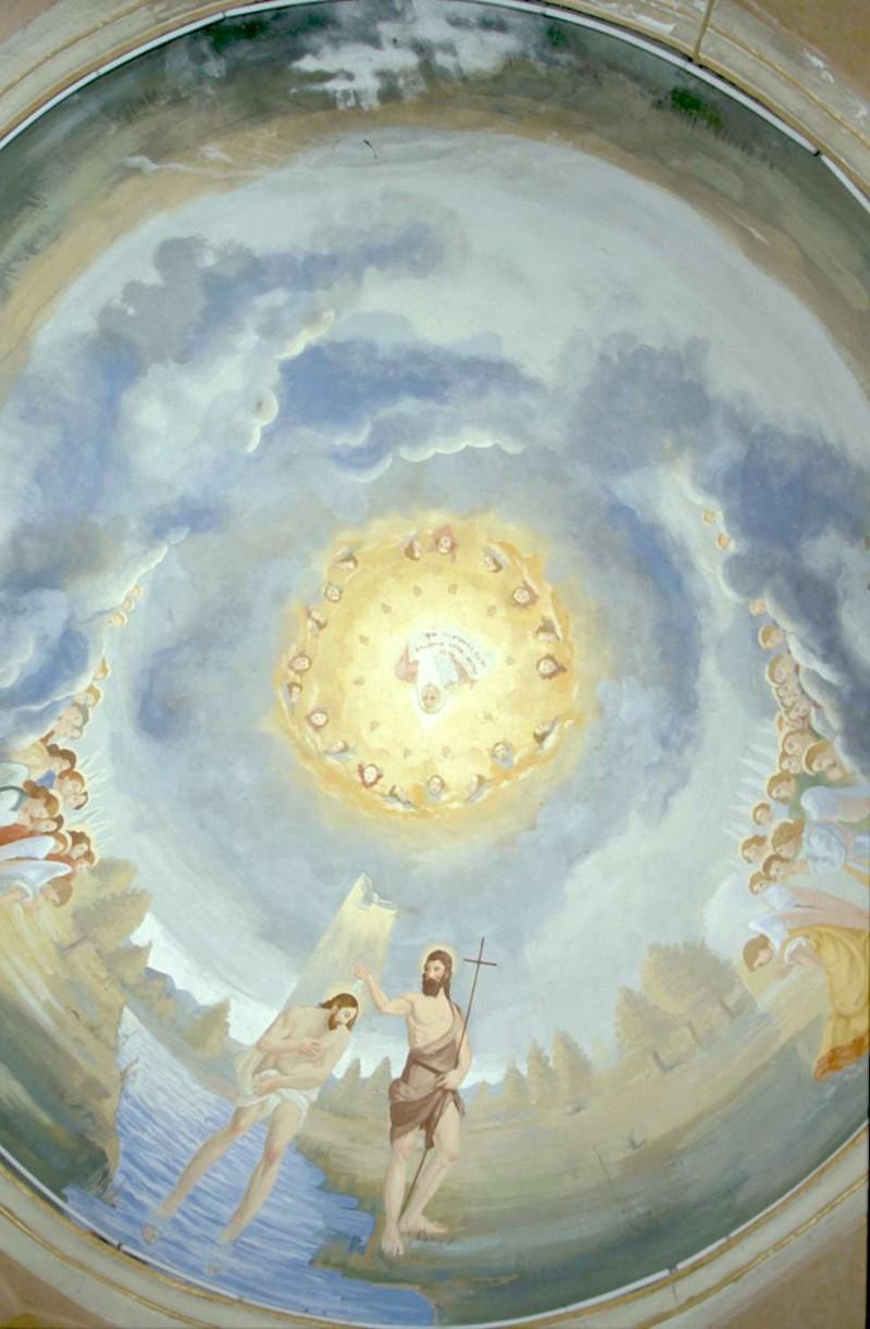 Breda M. (1936), Battesimo di Gesù Cristo e Dio Padre