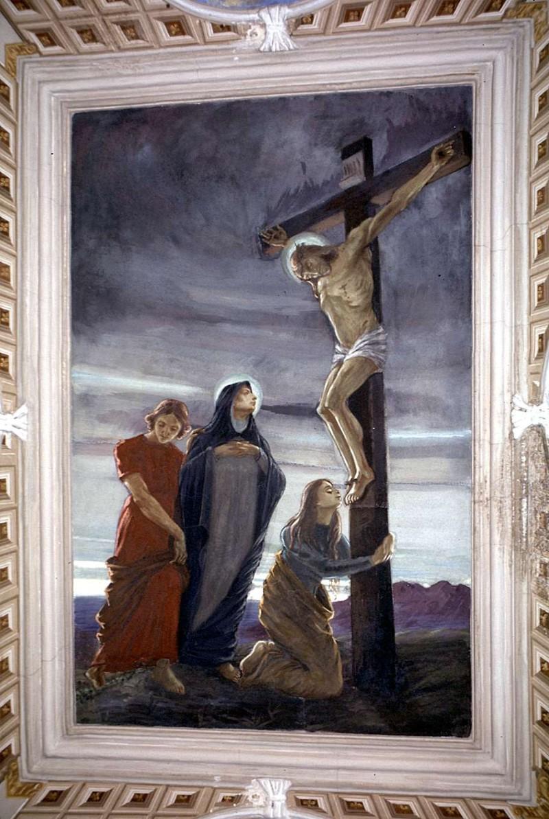 Cambianica P. (1912), Crocifissione di Gesù Cristo